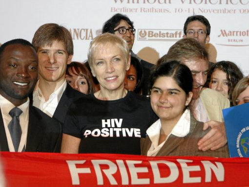 Peace Summit Award 2009: Annie Lennox