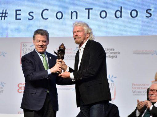 Peace Summit Award 2017: Richard Branson