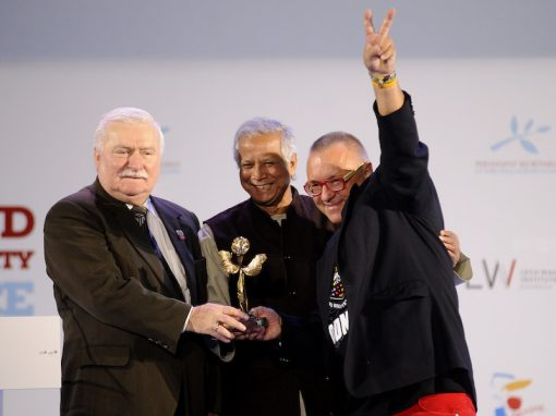2013 Peace Summit Medal for Social Activism – Jurek Owsiak