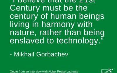 CELEBRATING NOBEL PEACE LAUREATE MIKHAIL GORBACHEV AT 90