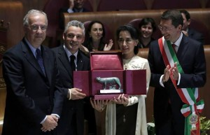 Aung San Suu Kyi - Rome