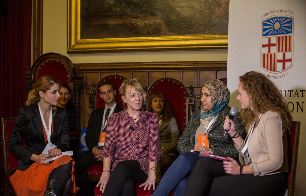 The Young Journalist Club interviewing Jody Williams