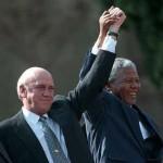 F. W. de Klerk & Nelson Mandela
