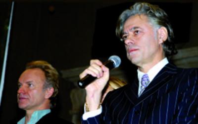 peace awards Bob Geldof