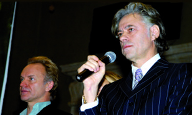 peace awards Bob Geldof