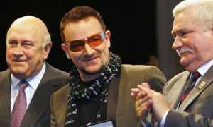 peace awards Bono
