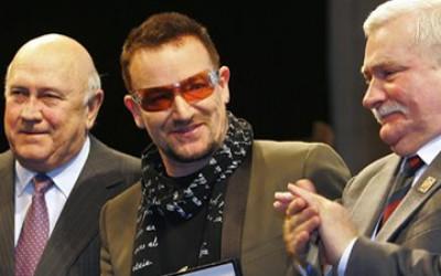peace awards Bono