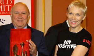 peace awards annie lennox