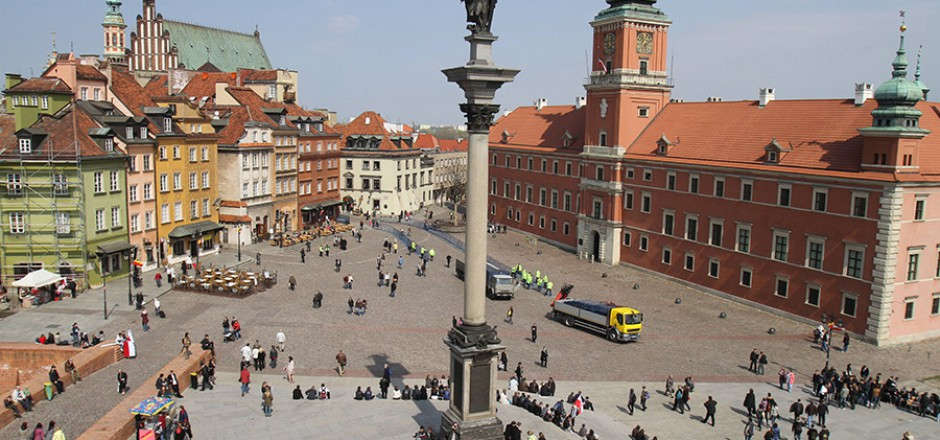 Warsaw Royal Castle and Old Town