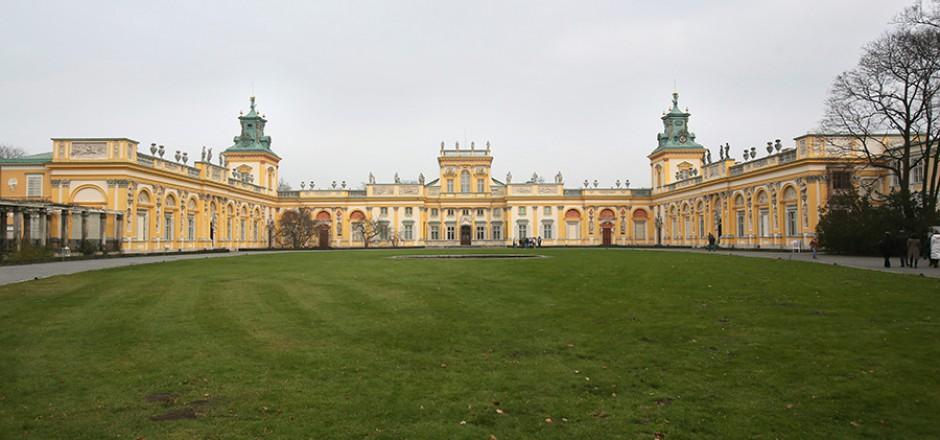 Warsaw Wilanow Palace